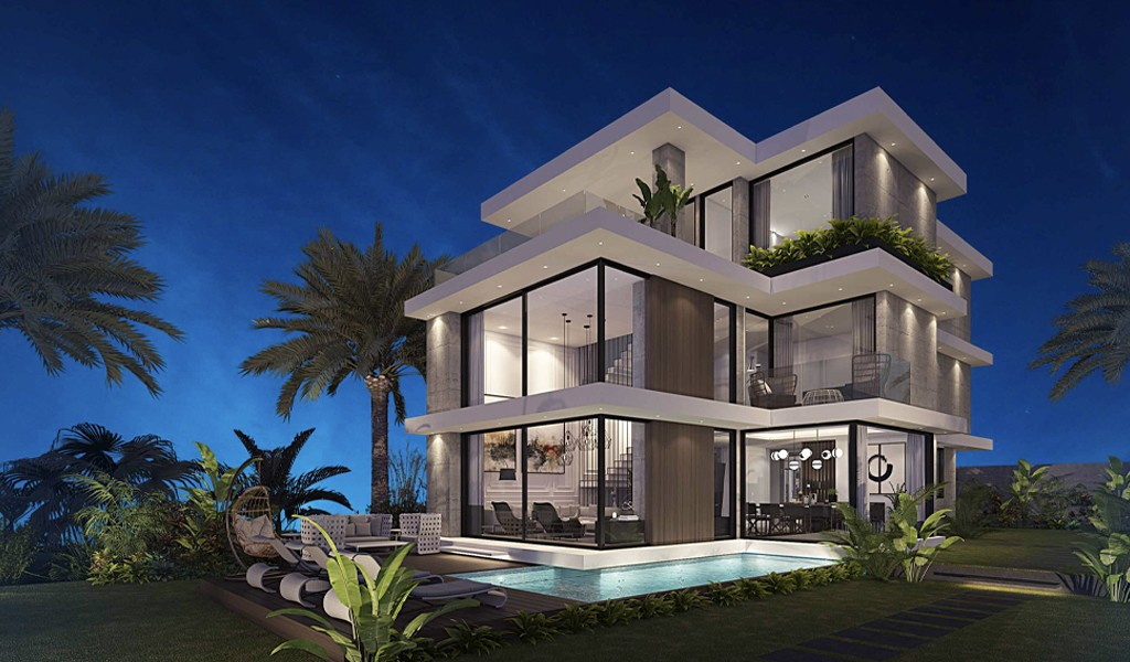Azur Villaları.... Bir Ev Hayal Edin...