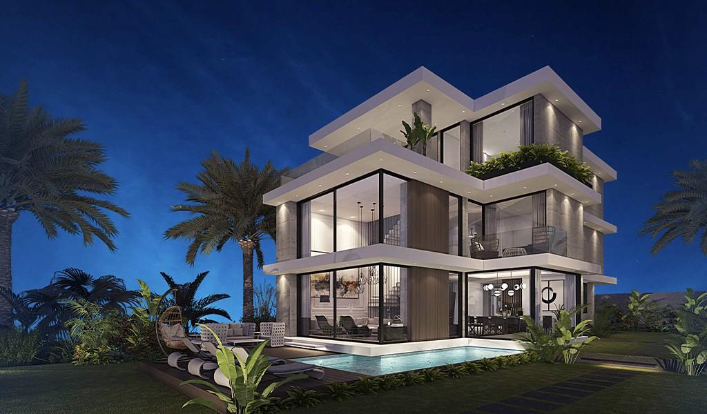 Doğanın yeşili, denizin mavisi, hayallerinizin evi; Azur Villaları- Bahçecik