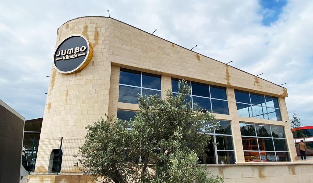 Jumbo Künefe, merkez ofisini, üretim ve depo alanlarını yeni yerine taşıdı.