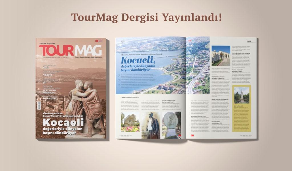 Tourmag Turizm Dergisinin Kapak Konuğu