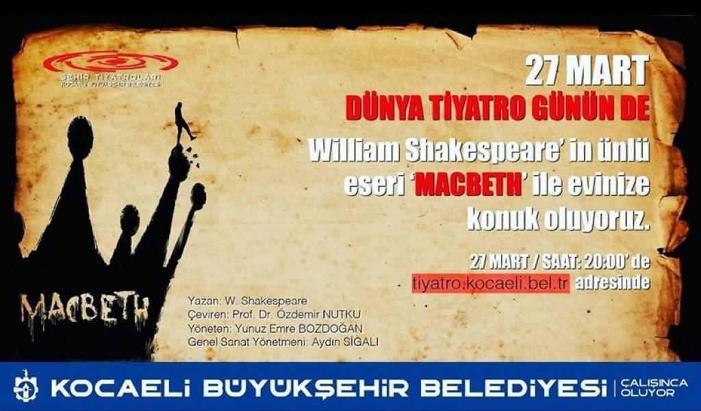 Tiyatroyu #EVDEKAL'ın Diye Evinize Taşıyoruz!